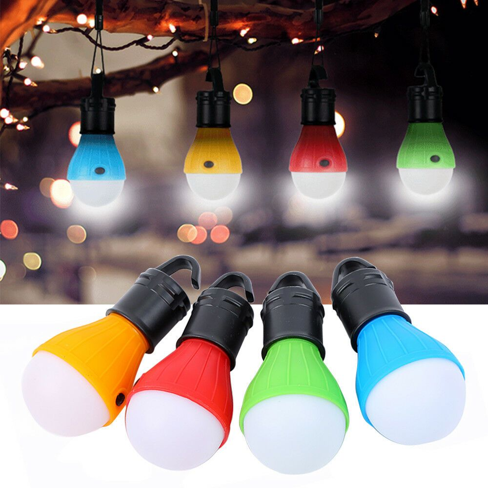 5x Portable Camping Tent LED Light Bulb Outdoor Hanging Fishing Lantern Lamps CA