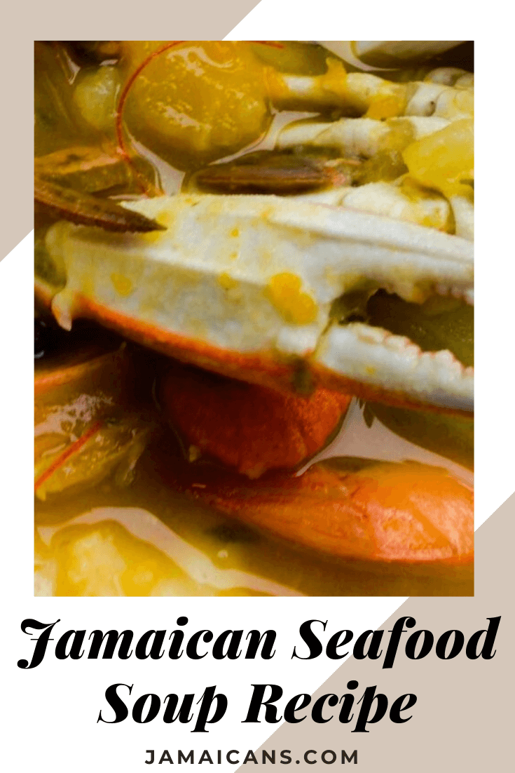 jamaican seafood soup recipe in 2020  seafood soup
