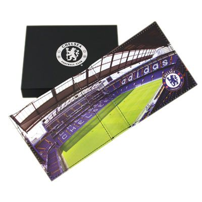 cbbbdb776 CHELSEA Leather Wallet with Embossed Crest. Panoramic Stadium Picture  inside. Gift Box. Official Licensed Chelsea wallet. FREE DELIVERY ON ALL OF  OUR GIFTS