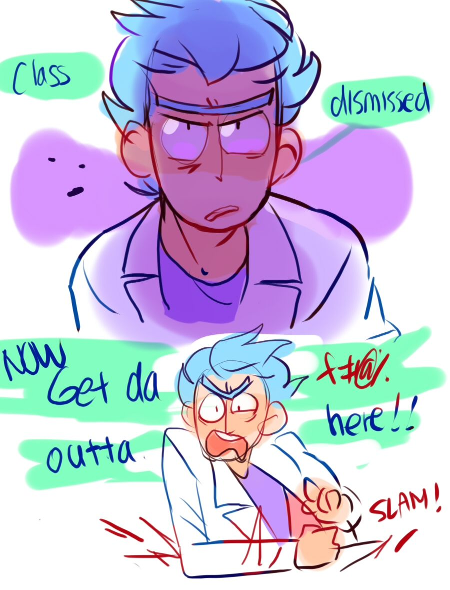 ttoba's Art Blog — Rick and Morty Requests. Drawing these many Ricku...