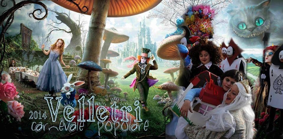 Gruppo Alice nel paese delle Meraviglie - Carnevale italiano 2014 - Italian Carnival 2014 VELLETRI Rome