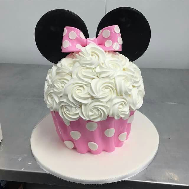 Pin De Joann Baker En Cupcakes Pastel De Minnie Mouse