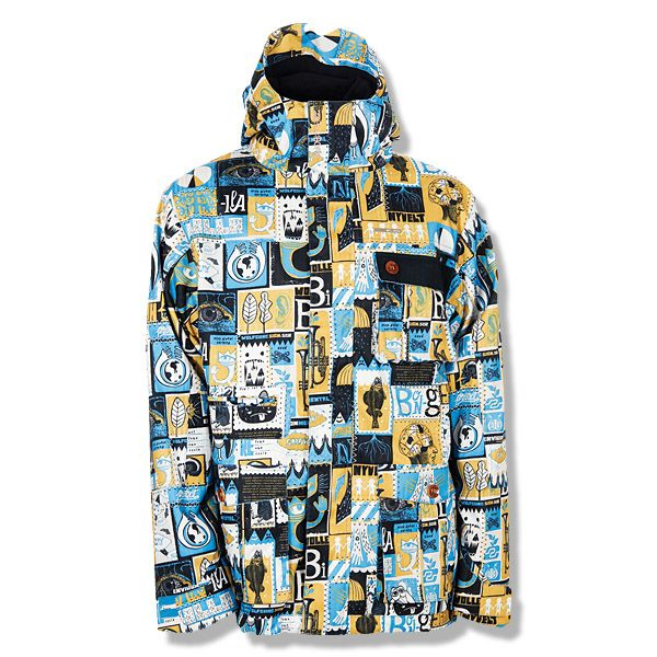 Save Nike Bellevue Print Snowboard Jacket Mens