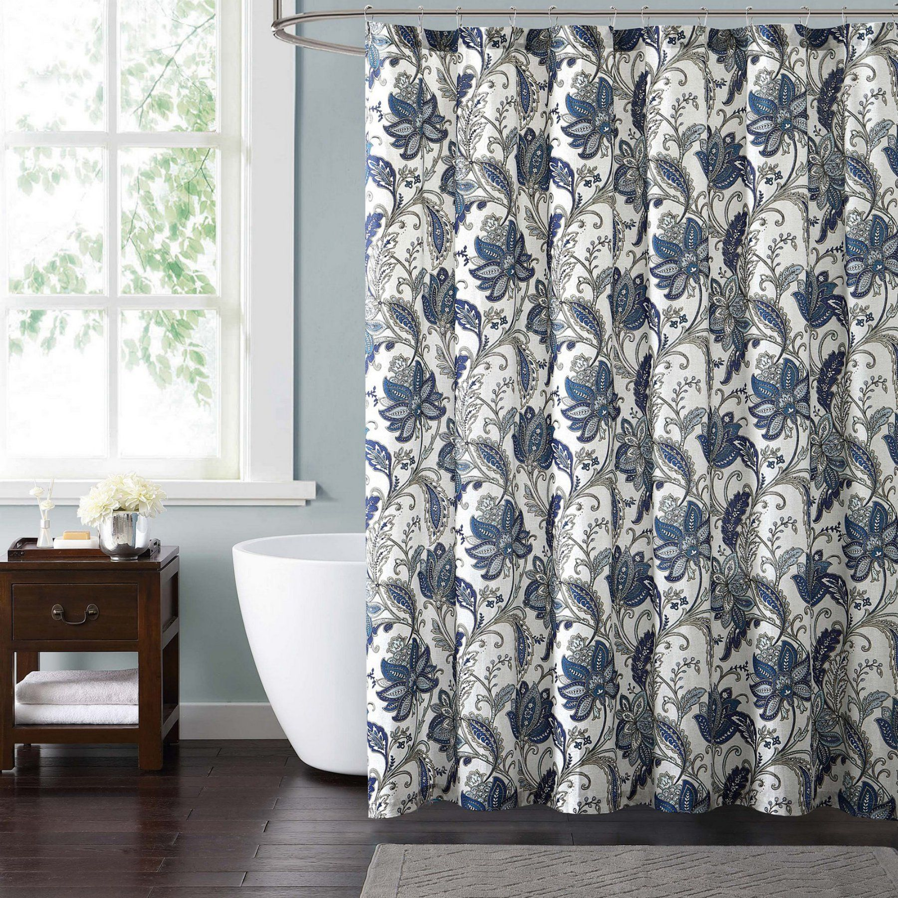 Style 212 Bettina Floral Shower Curtain Sc1844 6200 Floral