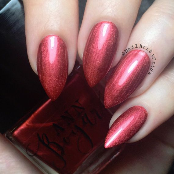 CAMINO - Maroon Nail Polish, Dark Red Nail Polish, Nail Lacquer ...