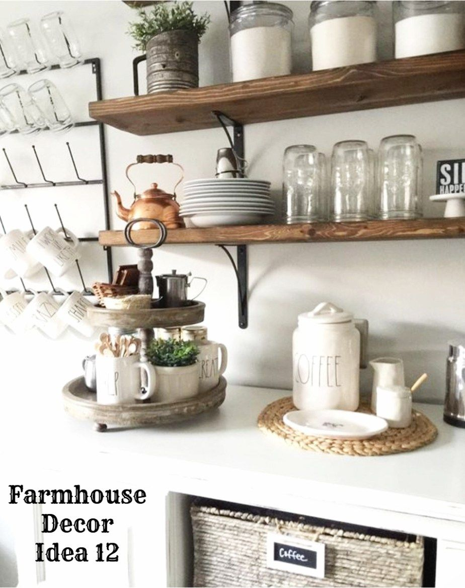 Farmhouse Decor! Clean, Crisp & Organized Farmhouse Style