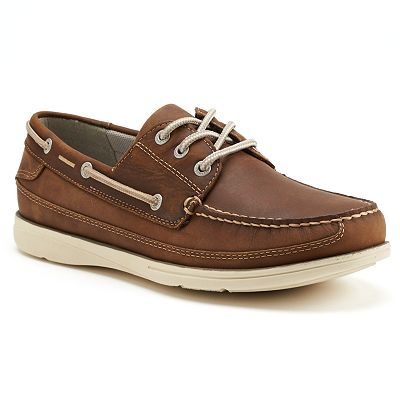 Chaps Windrow Men's Oxford Boat Shoes | Riley ideas | Pinterest ...