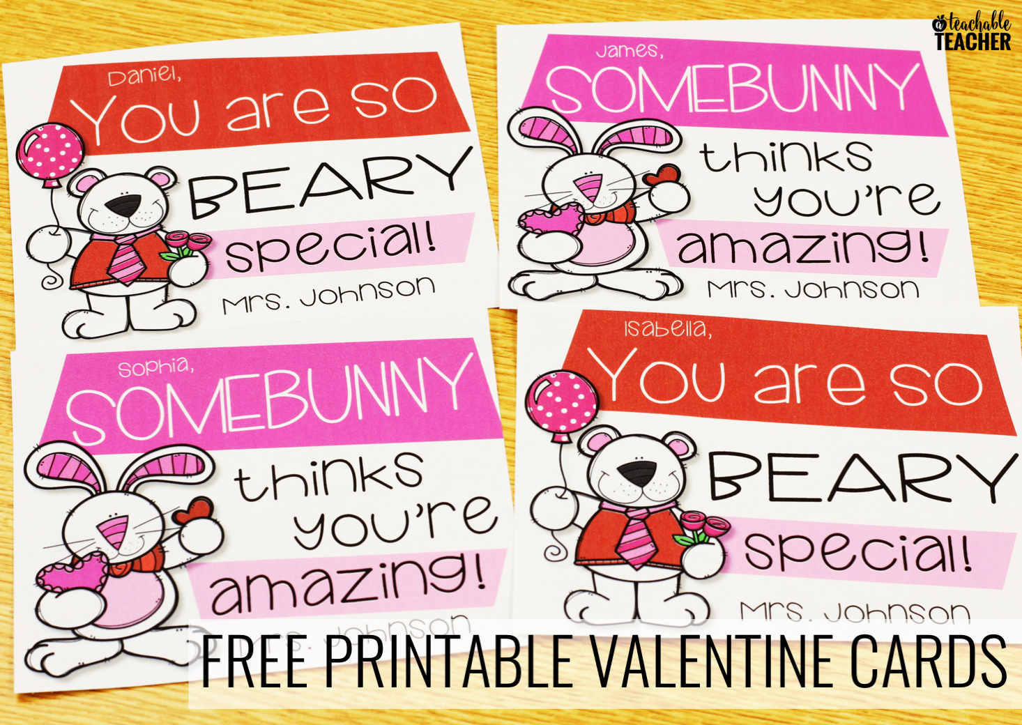 It's just a picture of Printable Valentine Cards for Teacher throughout 2nd grader