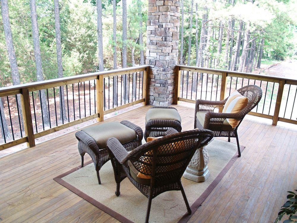 Balkongelander Aus Holz Terrasse Pinterest Ahnlich Aussehen