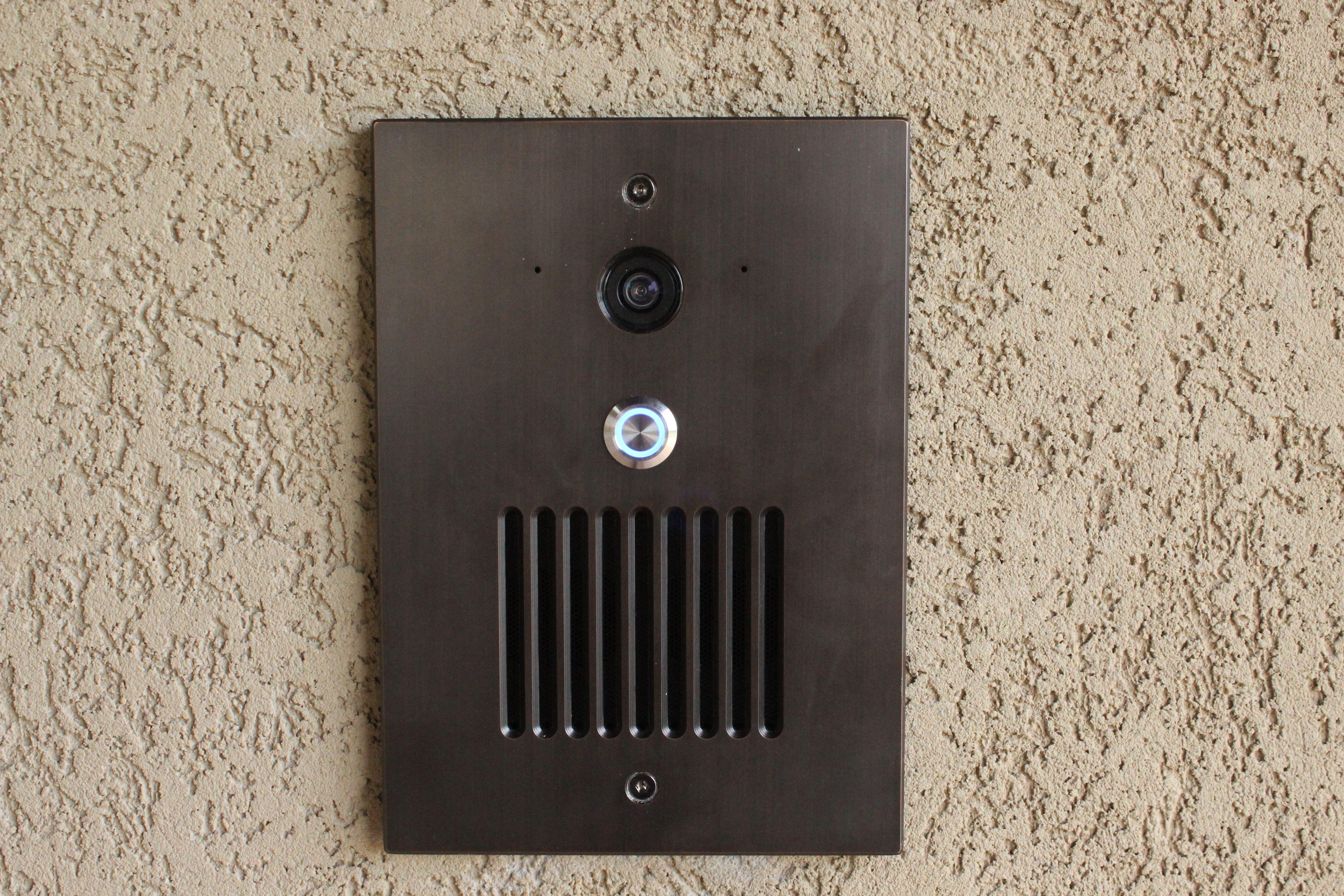Control4 doorbell with camera and intercom built in makes control4 doorbell with camera and intercom built in makes answering the door as easy rubansaba