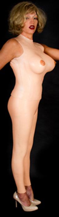 femskin iv anatomically correct flesh like silicone skin bodysuit