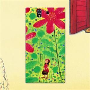 Jimmyboy Bag Girl Plastic Jimmy Comic Series Hard Case For Sony Xperia Z