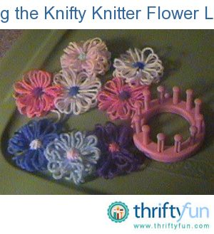 knifty knitter long loom instructions