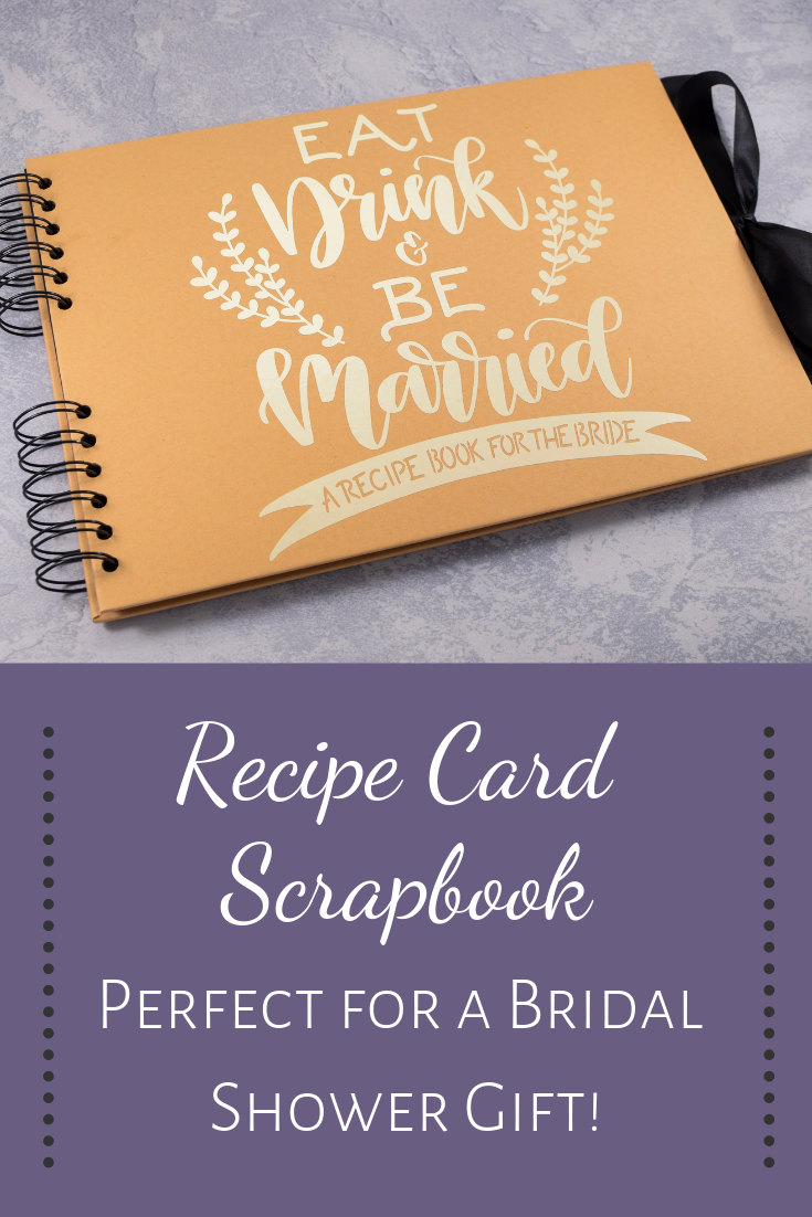 Recipe Card Scrapbook For Bridal Shower With Recipe Card Printable Recipe Card Album Recipes For The Bride Recipe Cards Bridal Shower Recipe Book Printable Recipe Cards
