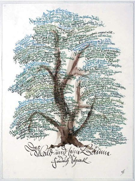 Breathtaking typographic posters family trees hand drawn type and breathtaking typographic posters fandeluxe Gallery