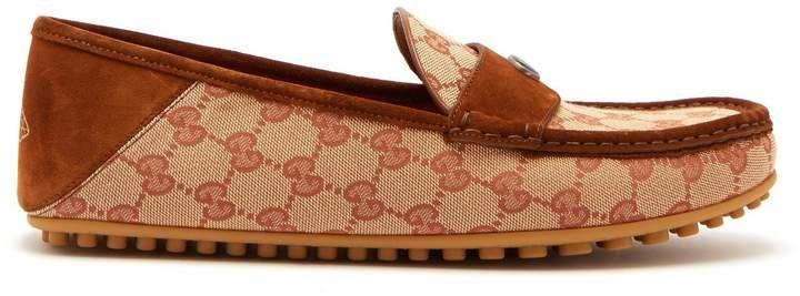 e86c7d10291 GUCCI Kanye GG Supreme loafers. add affiliate gucci