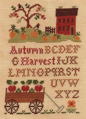 another cross stitch addict.  I cross stitched a beautiful sampler.  Hanging in…
