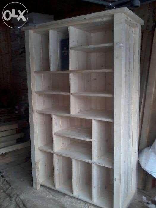 Szafa Komoda Biblioteczka Polki Drewniana Lita Krakow Olx Pl Home Decor Bookcase Shelves