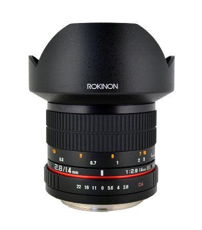 Rokinon Fe14m C 14mm F2 8 Ultra Wide Lens For Canon Black Ultra Wide Angle Lens Fixed Lens Wide Lens Canon