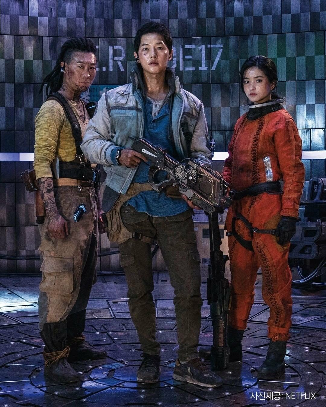 Space Sweepers crew in 2021 | Song joon ki, Movies outfit, Space movies