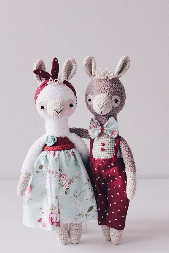 Alpaca Pattern Crochet Llama Pattern George&Gloria Amigurumi Alpaca ...