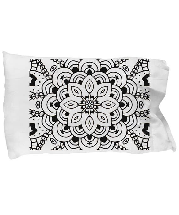 Decorate Your Own Pillowcase With Overlapping Floral Layers Color Classy Decorate Your Own Pillow