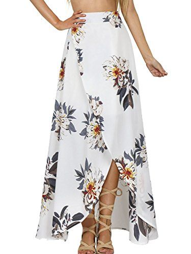 6a92677764 Yonala Womens Boho Floral Tie Up Waist Summer Beach Wrap ...