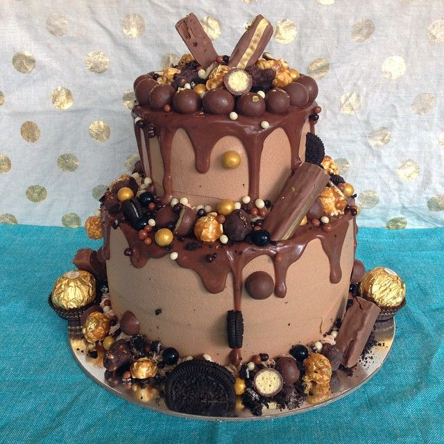 Jen Bake Down Cakery With Images Birthday Cake Chocolate