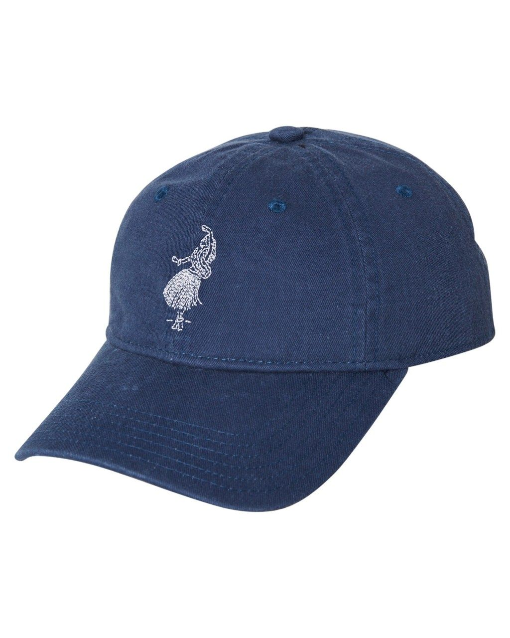 b793762718cb6 Rhythm Hula Strapback Cap Vintage Navy Vintage Navy Mens Accessories Other  Size