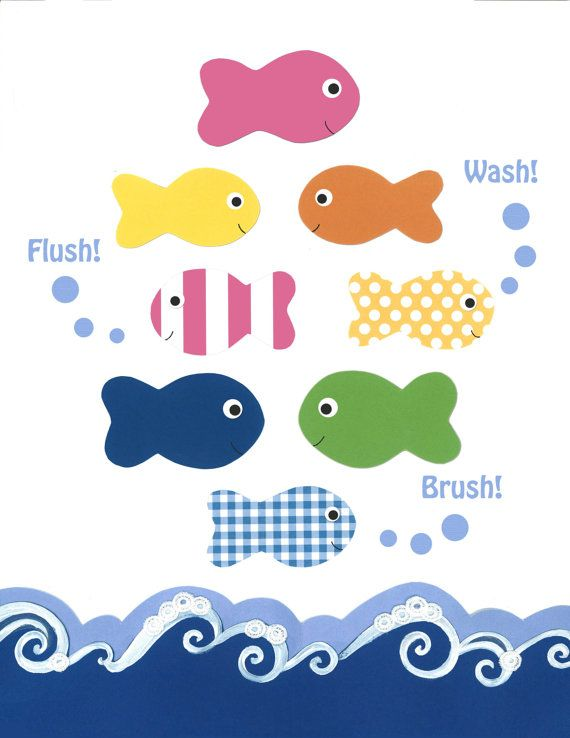 Fishes Wishes in PINK Designed to match any ocean or nautical