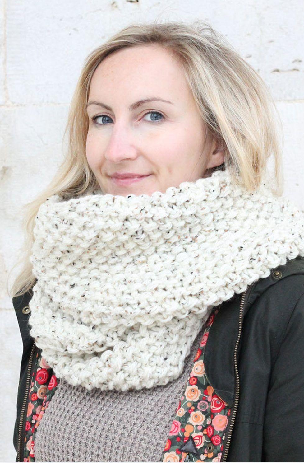 Infinity Scarf Pattern | Infinity scarf knitting pattern ...