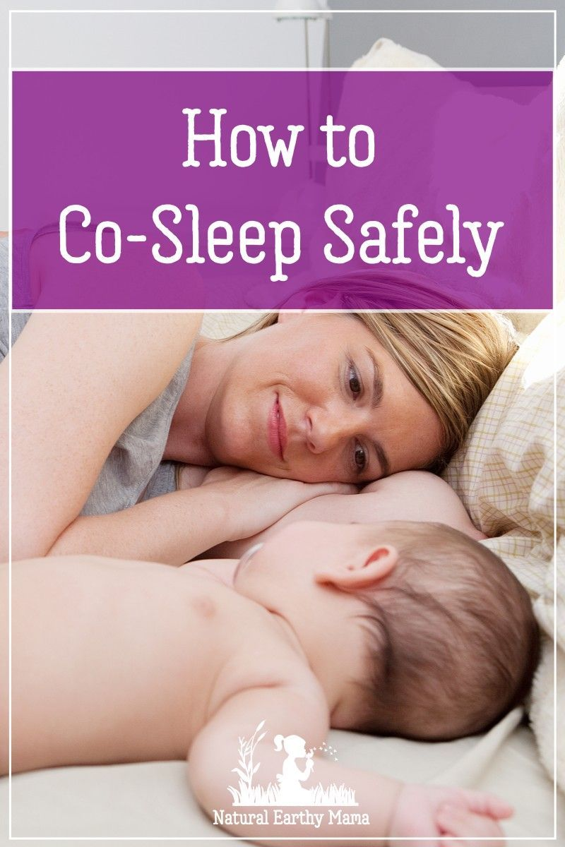 Safe Bed Sharing With Your Baby How To Co Sleep Safely