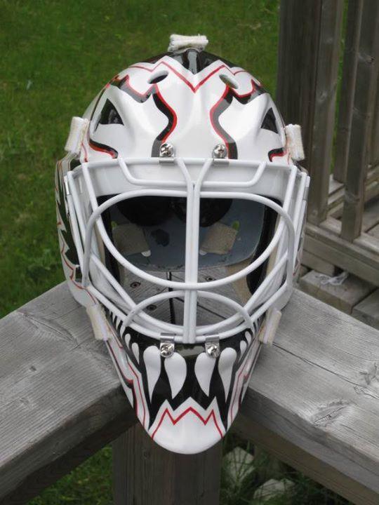 Felix Potvin Tribute Mask Goalie Mask Goalie Gear Nhl Hockey Players