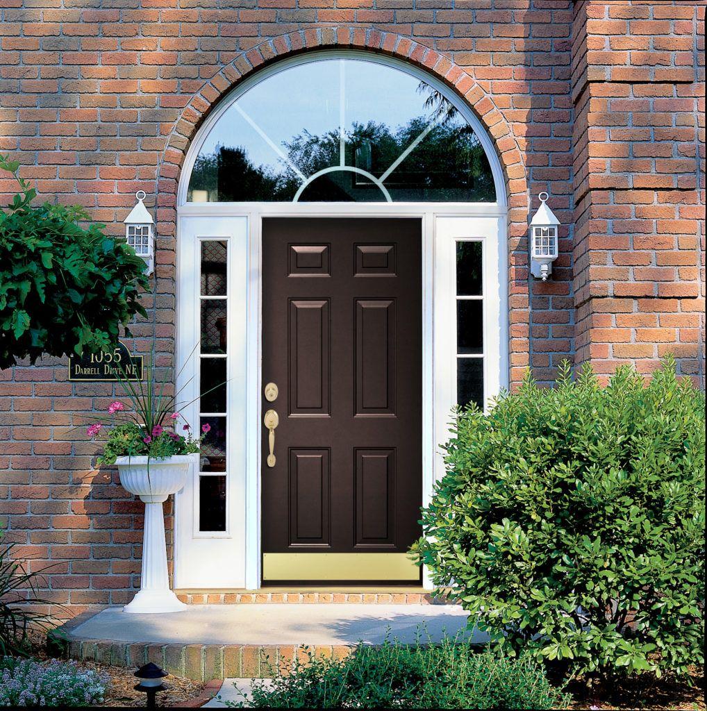 Costs Of Replacing A Door With Images Steel Entry Doors House Front Door Front Door Styles