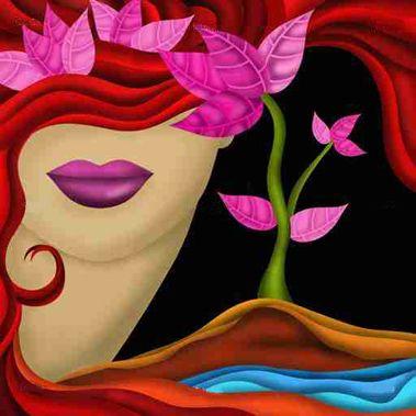 Cuadro Rostro De Mujer Bfl63693554 Pinturas Abstractas Pinturas De Rostros Rostros De Arte