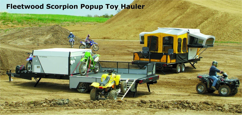 2006 Fleetwood Scorpion Toy Hauler Brochure From Starling