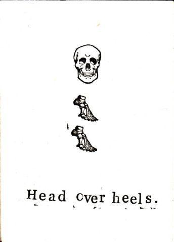 i m skeleton crick crack card