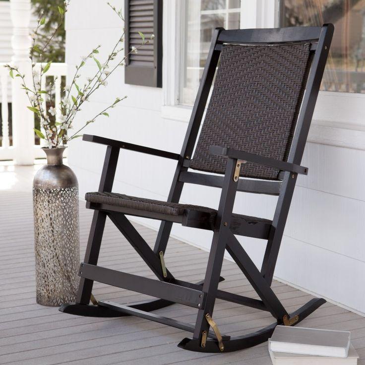 Porch Outdoor Rocker Modern Outdoor Furniture Pinterest Chair