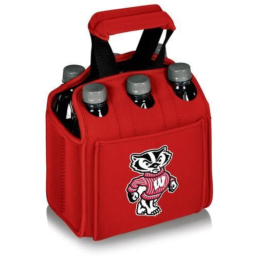 University of Wisconsin Badgers 6-Pack Cooler Caddy Tote