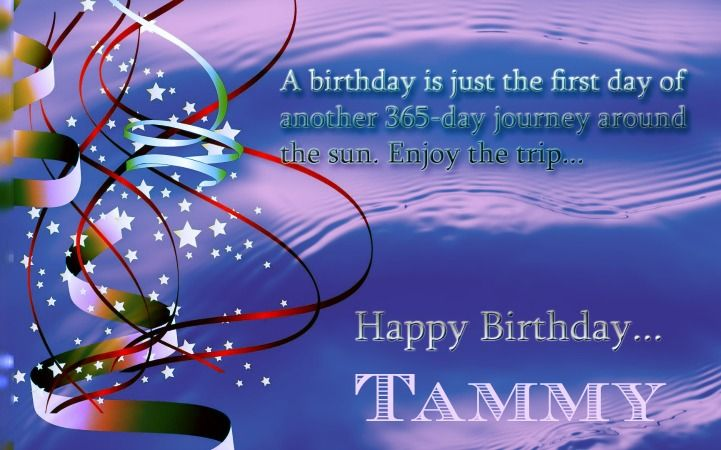 Tammy's Birthday Contest