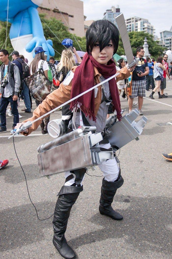 DeviantArt More Like Genderbent Mikasa Ackerman At SDCC 2013 By