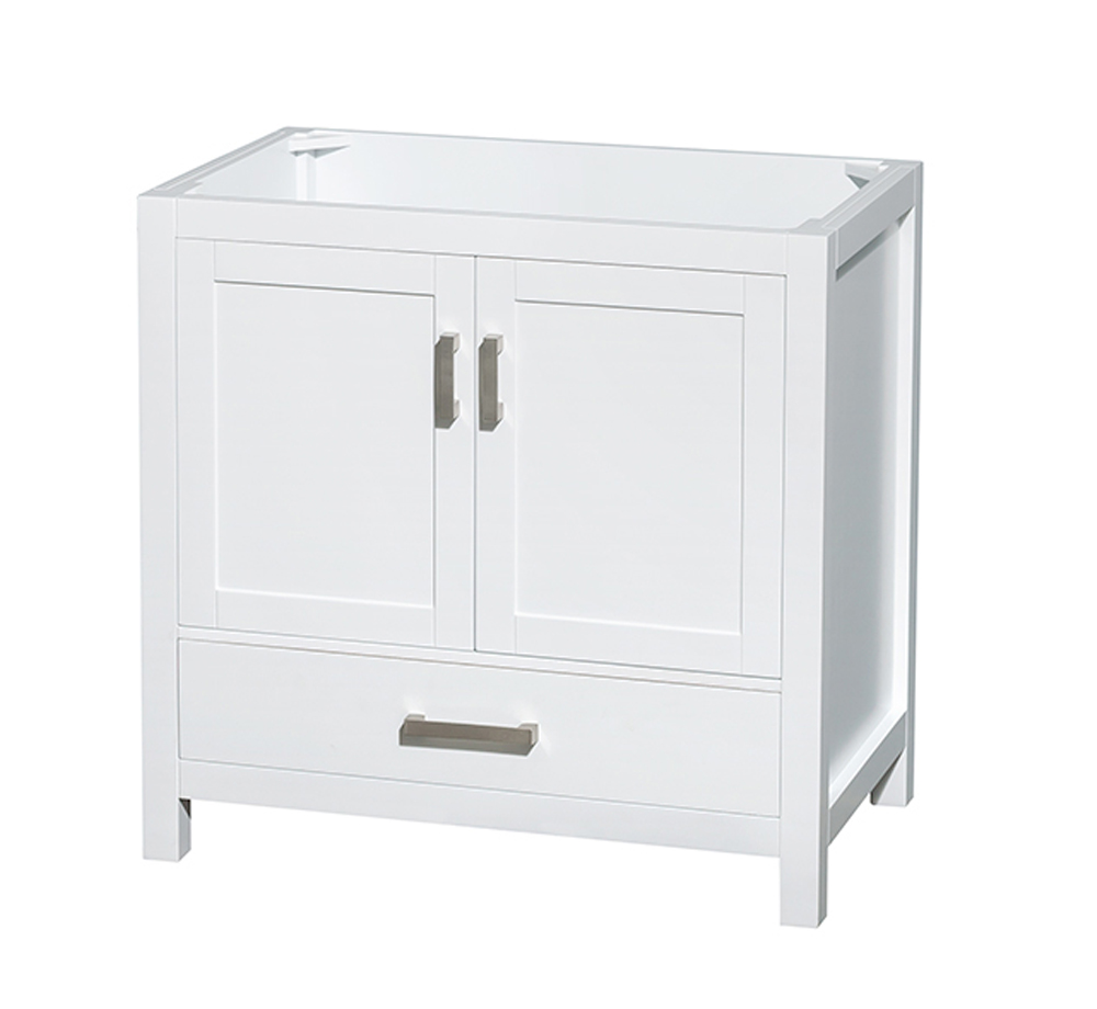 Wyndham Collection Sheffield 36 Inch Single Bathroom Vanity In