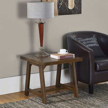 Cabot End Table Costco House Pinterest Living rooms Room