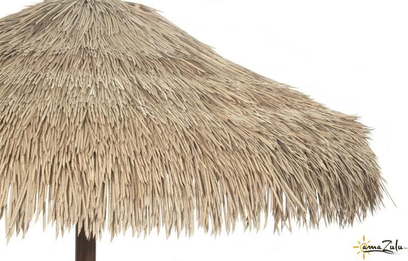 Synthetic Palm Thatch Umbrella From Amazulu Inc Thatch Thatched Roof Palapa