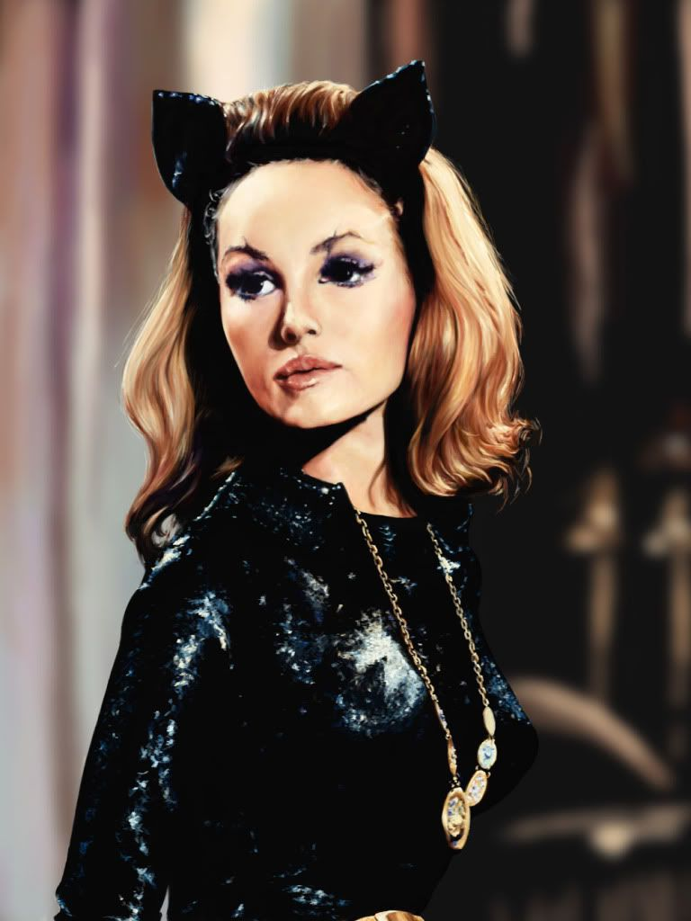 That B Movie Role Va Va Voom Actress Julie Newmar In Her Most