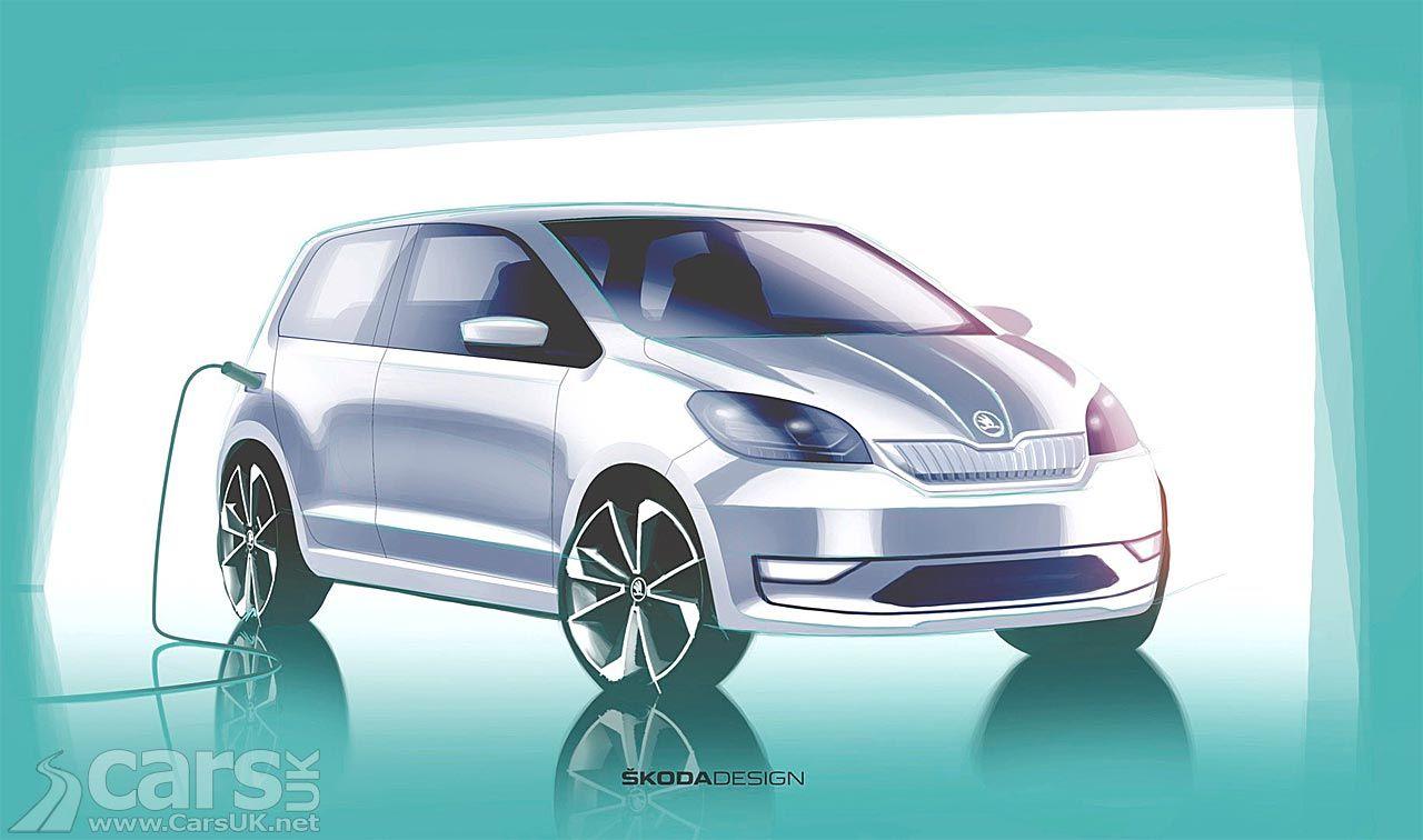 Skoda Citigo E An Electric Citigo Teased Ahead Of Next Week S