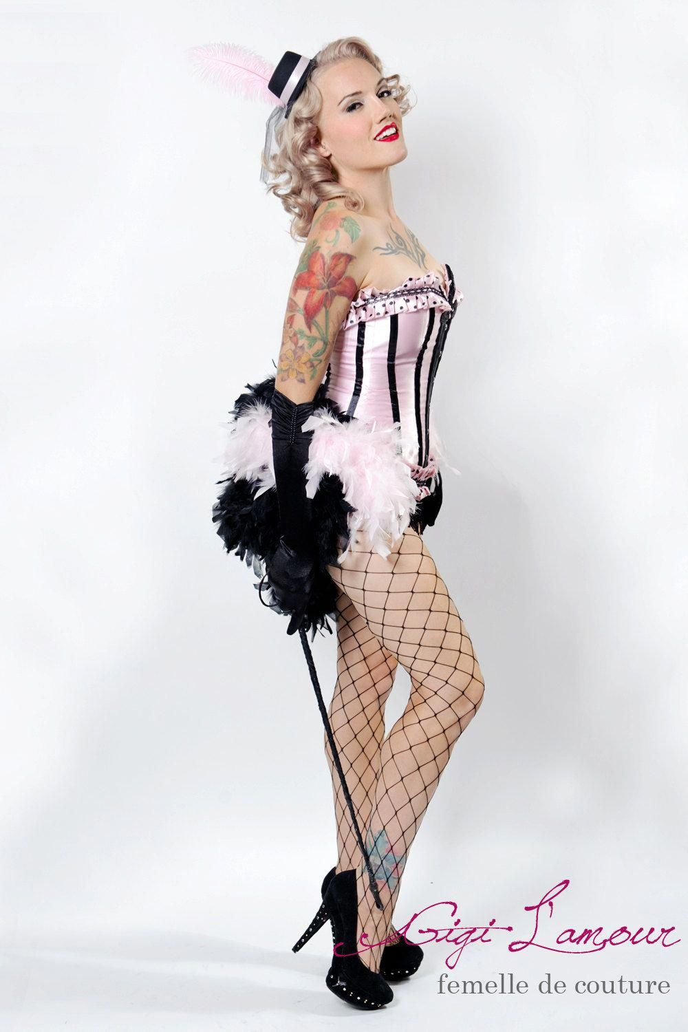 LARGE Ring Master Las Vegas Showgirl Feather Bustle by