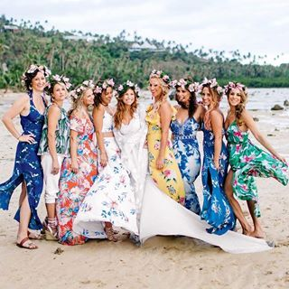The Perfect Bridal Party Attire For A Beach Wedding Allan