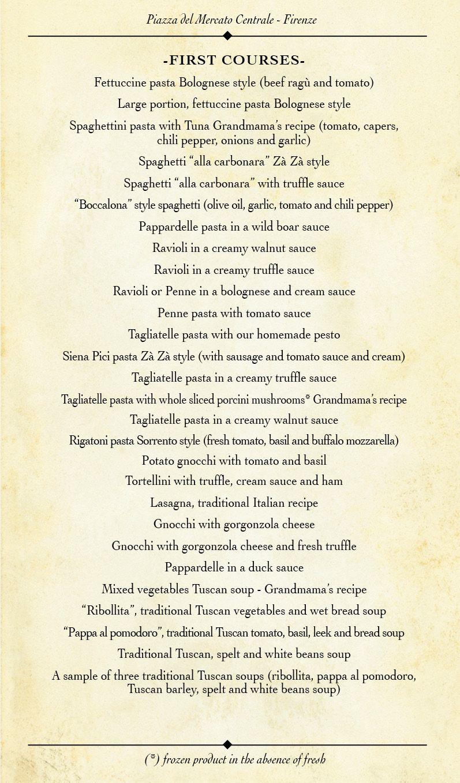 Trattoria ZaZa | Fettuccine pasta, Pasta bolognese, Garlic ...
