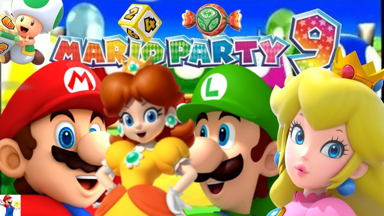 Mario party 9 minigames nintendo wii nintendo